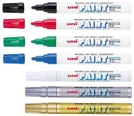 Medium point uni paint markers for Uni paint marker